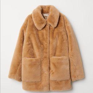 H&M Trend Faux fur jacket. Never worn.